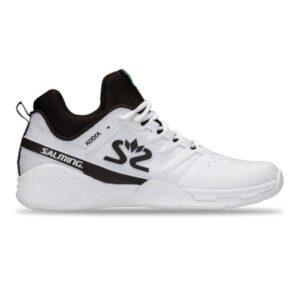 Salming Kobra Mid 3 Mens Indoor Court Shoes - White/Black
