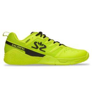 Salming Kobra 3 Mens Indoor Court Shoes - Lime Punch/Black