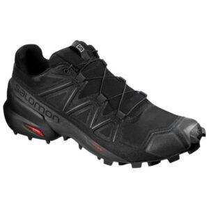 Salomon Speedcross 5 - Mens Trail Running Shoes - Black/Phantom
