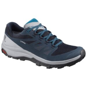 Salomon Outline GTX - Mens Hiking Shoes - Navy Blazer/Quarry/Lyons Blue