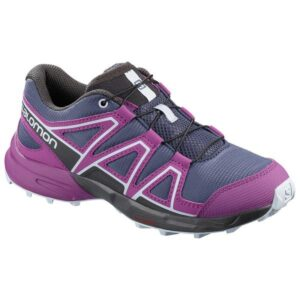 Salomon Speedcross J - Kids Trail Running Shoes - Crown Blue/Sparkling Grape/Phantom