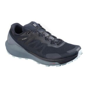 Salomon Sense Ride 3 - Womens Trail Running Shoes - Navy/Flint Stone/Angel Falls