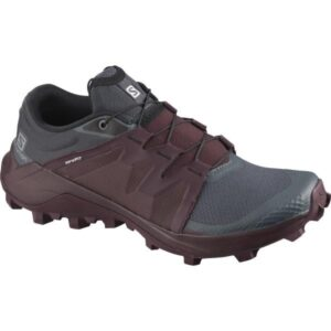 Salomon Wildcross - Womens Trail Running Shoes - India Ink/Wine Tasting