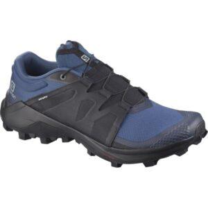 Salomon Wildcross - Mens Trail Running Shoes - Dark Denim/Black/Navy Blazer