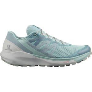 Salomon Sense Ride 4 - Womens Trail Running Shoes - Pastel Turquoise/Lunar Rock/Slate