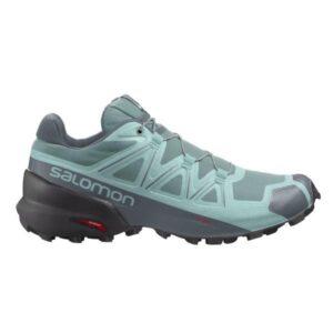 Salomon Speedcross 5 - Womens Trail Running Shoes - Trellis/Stormy Weather