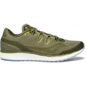 Saucony Freedom ISO - Mens Running Shoes - Olive