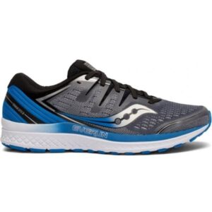 Saucony Guide ISO 2 - Mens Running Shoes - Slate/Blue