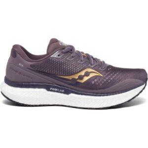 Saucony Triumph 18 - Womens Running Shoes - Dusk/Gold