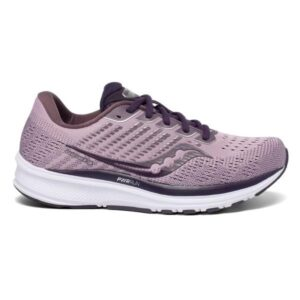 Saucony Ride 13 - Womens Running Shoes - Blush/Dusk