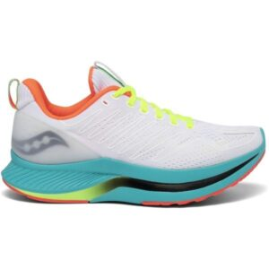 Saucony Endorphin Shift - Womens Running Shoes - White/Mutant