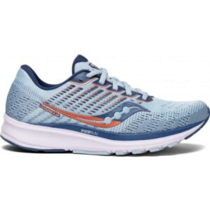 Saucony Ride 13 - Womens Running Shoes - Sky Storm