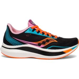 Saucony Endorphin Pro - Womens Road Racing Shoes - Future Black