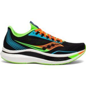 Saucony Endorphin Pro - Mens Road Racing Shoes - Future Black