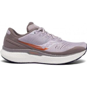 Saucony Triumph 18 - Womens Running Shoes - Lilac/Copper
