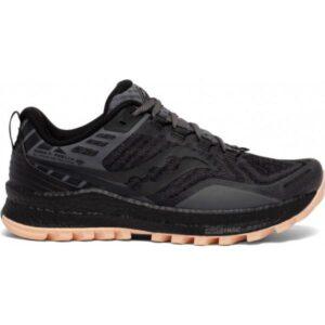 Saucony Xodus 11 - Womens Trail Running Shoes - Black Sunset