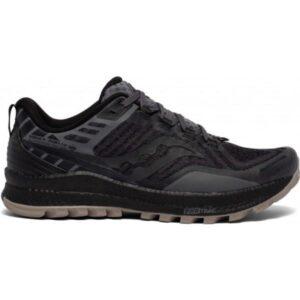 Saucony Xodus 11 - Mens Trail Running Shoes - Black/Gravel