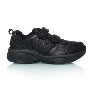 Sfida Defy Junior Velcro - Kids Cross Training Shoes - Black