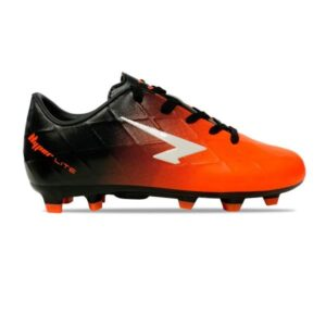 Sfida Ignite Junior - Kids Football Boots - Black/Fluro Orange