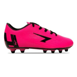 Sfida Velocity Junior - Kids Football Boots - Fluro Pink/Black