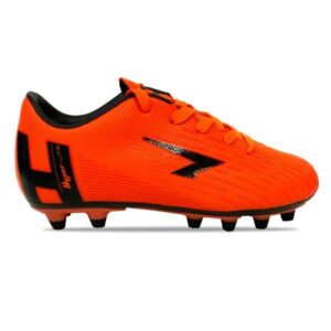 Sfida Velocity Junior - Kids Football Boots - Fluro Orange/Black