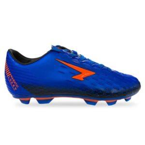 Sfida Majestic Junior - Kids Football Boots - Royal/Fluro Orange