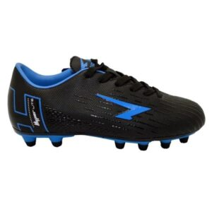 Sfida Velocity Junior - Kids Football Boots - Black/Royal
