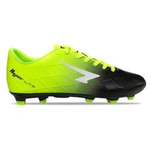 Sfida Ignite Junior - Kids Football Boots - Fluro Lime/Black