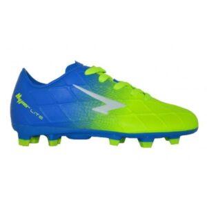 Sfida Velocity Junior - Kids Football Boots - Blue/Lime