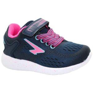 Sfida Vivid - Toddler Sneakers - Navy/Fuchsia/Aqua