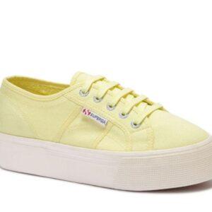 Superga Womens 2790 ACOTW A4N Yellow Lt - Off White