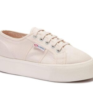 Superga Womens 2790 ACOTW A4Q Pink Peach Blush - White