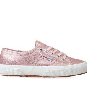 Superga Womens 2750 LameW A07 Pink Pale Lilac