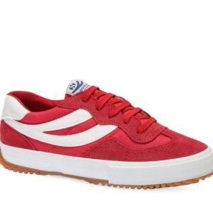 Superga Womens 2837-Suenylon U 971 Red - White