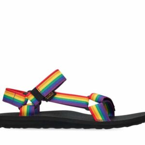 Teva Mens Original Universal Rainbow Pride Rainbow