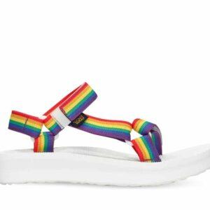 Teva Womens Midform Universal Rainbow Pride Rainbow