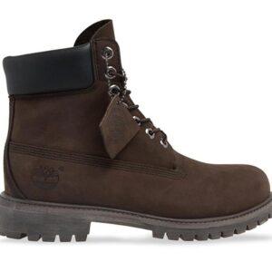 Timberland Men's 6-Inch Premium Waterproof Boot Medium Brown Nubuck