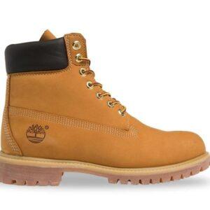 Timberland Men's 6-Inch Premium Waterproof Boot Wheat Nubuck