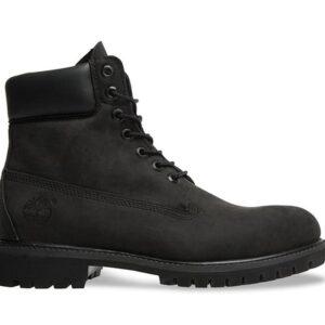 Timberland Men's 6-Inch Premium Waterproof Boot Black Nubuck
