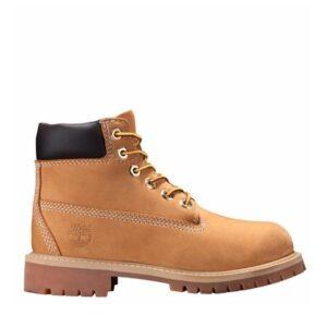 Timberland Kids Youth 6-Inch Premium Boot Wheat Nubuck
