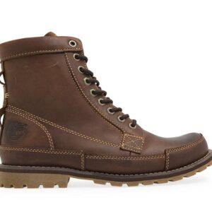 Timberland Men's Earthkeepers Original Leather 6-Inch Boot Medium Brown Nubuck