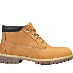 Timberland Men's Icon Waterproof Chukka Boot Wheat Nubuck