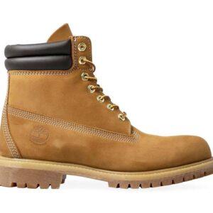 Timberland Men's 6-Inch Double Collar Boot Wheat Nubuck