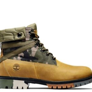 Timberland Men's Heritage EK+ 6-Inch Boot Wheat Full Grain