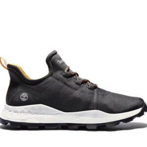 Timberland Men's Brooklyn ReBOTL Fabric Sneakers Black Ripstop