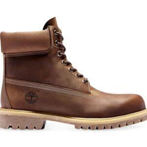 Timberland Men's 6-Inch Premium Boot Rust Full Grain