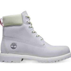 Timberland Women's Timberland Premium 6-Inch WP Boots Bright White Waterbuck