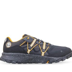 Timberland Men's Garrison Trail Hiking Sneakers Black Orange