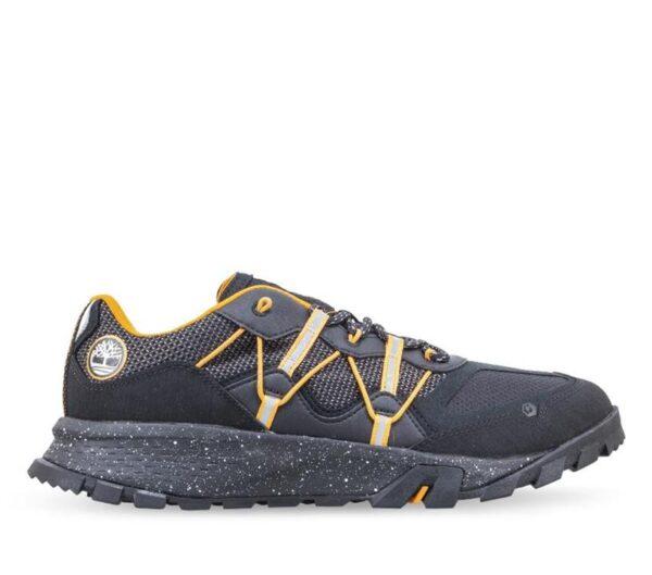 Timberland Men's Garrison Trail Hiking Sneakers Black Orange