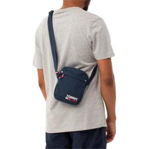 Tommy Hilfiger Mens Campus Messenger Bag Twilight Navy